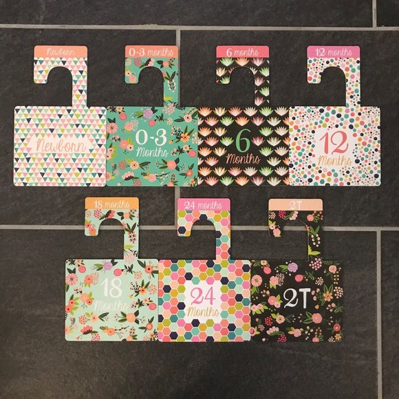 Lucy Darling baby clothes size dividers